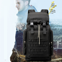 Expansion outdoor tactical travel bag multi-layer pocket 3D design decompression backpack suitable for hiking Fishing
