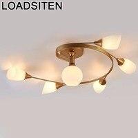 Moderno avize moderno para sala de estar luminaria deckenleuchte plafondlamp lampara techo plafonnier luz de teto|Luzes de teto| |  -