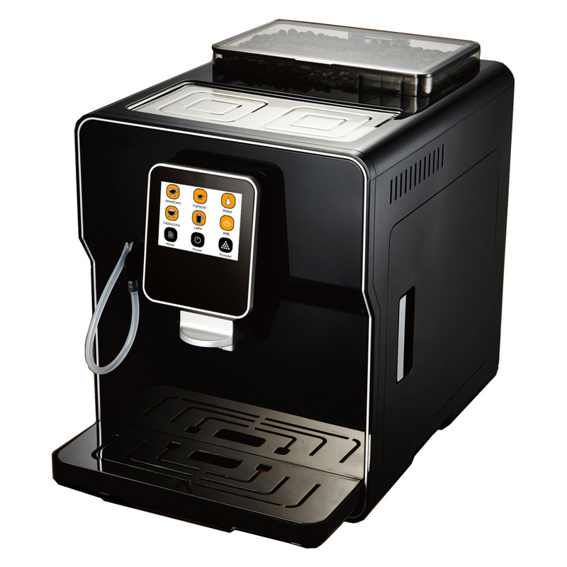 Multifunctional Commercial Fully Automatic Espresso Machine LCD Coffee Machine Americano Maker 220V / 110V