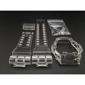 Ice Transparent Watchband Stra
