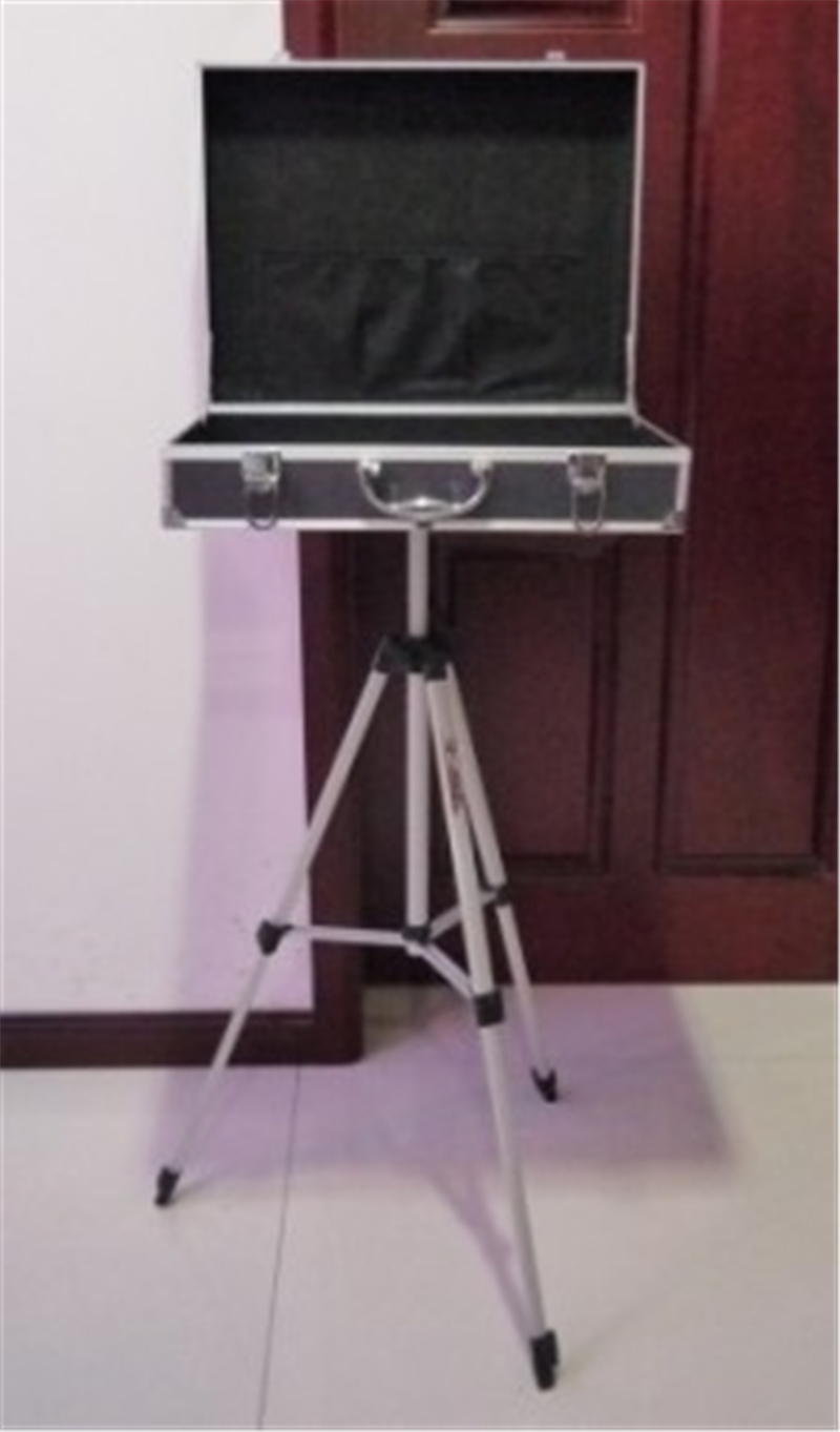 Carrying Case With Triangle Table Base(46*35*12.8cm) Magic Tricks Professional Magicians Stage Accessories Gimmick Props