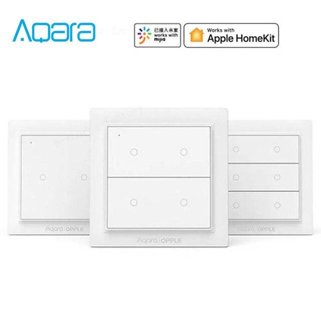 Originale Aqara OPPLE Smart Switch Wireless di Lavoro Con Apple HomeKit e Mihome App Due/Quattro/Sei Bottoni