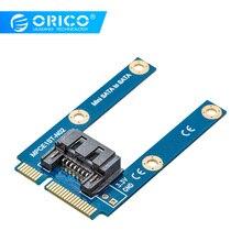 ORICO SATA 7PIN к адаптер mSATA плоский тип SSD адаптер SATA3.0 к mSATA SATAIII протокол полная высота поддерживаемый Размер