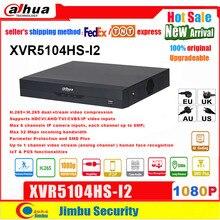 Digital XVR Dahua Video-Recorder Penta-Brid 4-Channel H.265 1080P XVR5104HS-I2 Compact