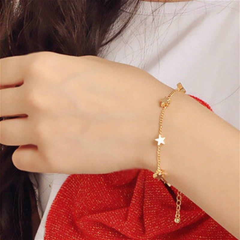 1 Pcs Temperament Fashion Star Bracelet Bracelet Party Favors for Bracelet Valentines Day Presents Guests Party Favor Souvenir(China)
