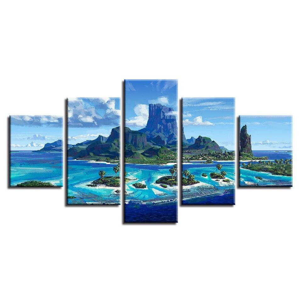 Красивый природный пейзаж archipe холст hd ПЕЧАТЬ Плакаты домашний