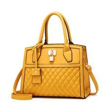 Sac à main de marque de luxe pour femmes, jaune, grande taille, Tendance 2020, nouvelle collection