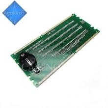 1 قطعة / الوحدة DDR2 DDR3 مضاءة مع ضوء اختبار اختبار كومبو سطح المكتب في المخزون