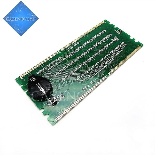 1 sztuk / partia DDR2 DDR3 podświetlany z testerem światła tester combo pulpit w magazynie