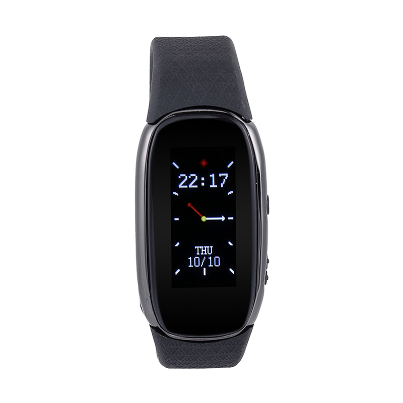 Recording watch Digital Audio Voice Recorder Flash Drive up to 16GB Voice Recordering Bracelet With WAV MP3 Plays Recorder