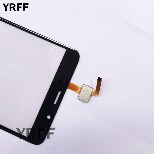 Touch Screen Panel For Leagoo M8 / M8 Pro Touch Screen Sensor Glass Digitizer Front Panel 5.7'' 3M Glue Wipes 4