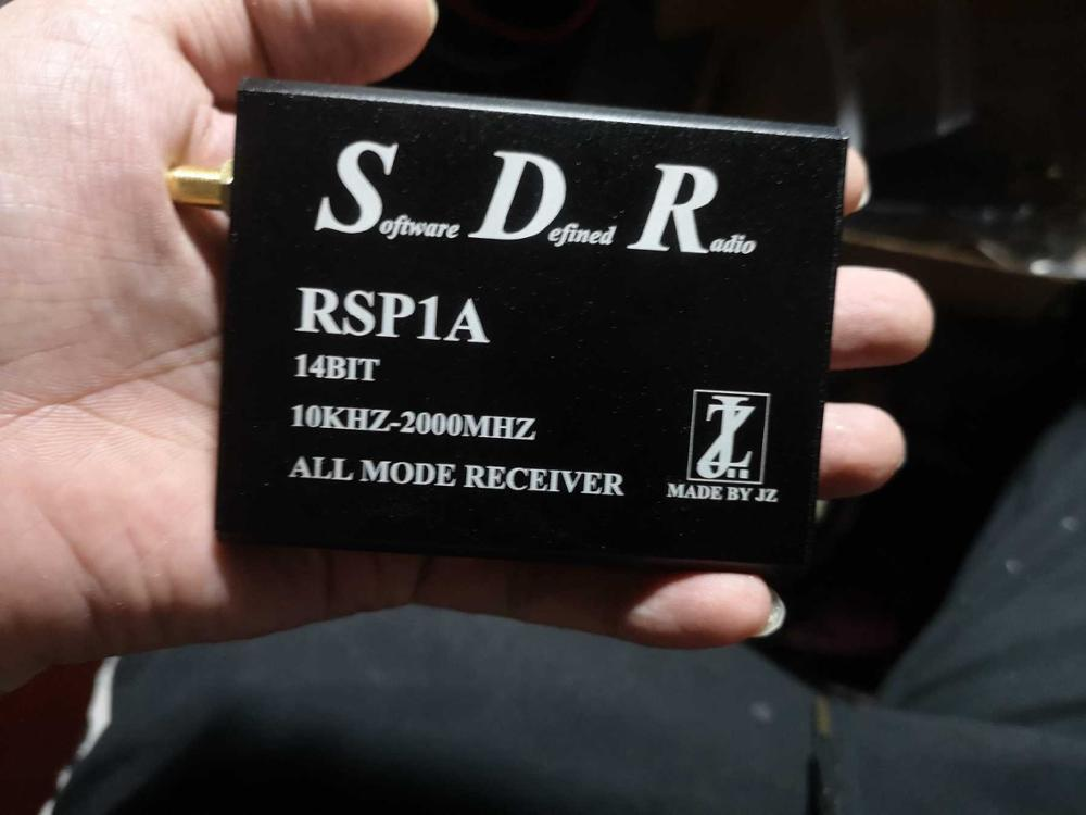 SDRplay RSP1A 1kHz - 2000Mhz Wideband SDR Receiver Wideband Full-featured 14bit SDR Windows Linux Android MAC & Raspberry Pi 3