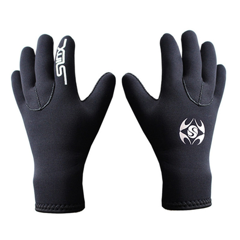 Hot Sele 3mm Neoprene Men Women Diving Gloves Swimming Surfing Spearfishing Snorkeling Boating Fishermen Winter Warm Dive Gloves