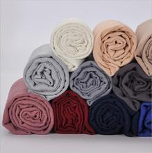 Promotion Sale! Women's Viscose Scarf Muslim Hijab Heascarf Plain Crinkled Long Shawl Fringe Head Wrap Foulard Headband 180x90cm
