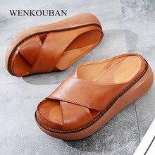 Wedges Shoes Sandalias Summer Platform Casual-Heels Femenina