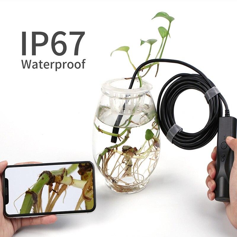 8mm wifi endoscopio camera ip67 a prova 04