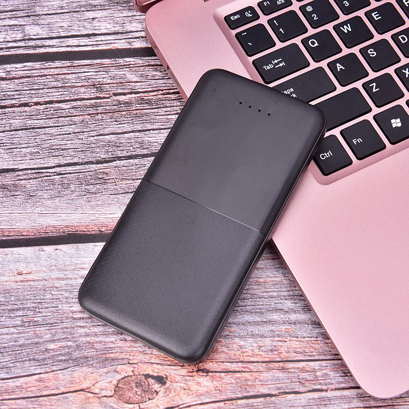 Горячая банк питания резервная копия зарядного банка портативное зарядное устройство для всех мобильных телефонов без батареи - Цвет: Черный