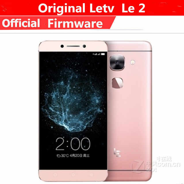 "Originale Letv Le 2X620 4G LTE Mobile Phone Helio X20 Deca Core Android 6.0 5.5 ""1920X1080 3GB di RAM 32B ROM di Impronte Digitali 16.0MP"
