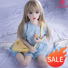 RU USA CN Warehouse Free Shipping Loli Doll Sex Little Young Girl Tight Virgin Vagina Silicone Sex Doll Rubber woman For Men(China)