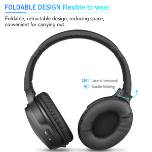 Image 3 - Kebidu Tragbare Drahtlose Kopfhörer Bluetooth Stereo Faltbare Headset Audio Mp3 Einstellbar Musik Kopfhörer mit Mic