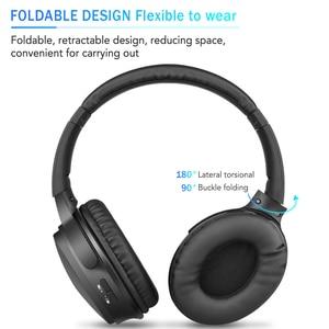 Image 3 - Kebidu taşınabilir kablosuz kulaklıklar Bluetooth Stereo katlanabilir kulaklık ses Mp3 ayarlanabilir müzik mikrofonlu kulaklık