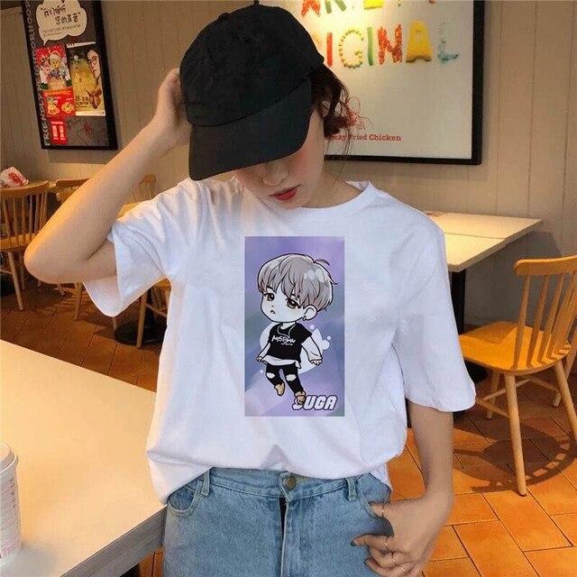 Фото модная комиксная футболка для мальчиков женская с милым принтом цена