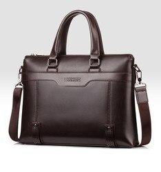 Business mens bag high-end shoulder bag mens handbag trend mens bag 2019 new casual Messenger bag briefcase male