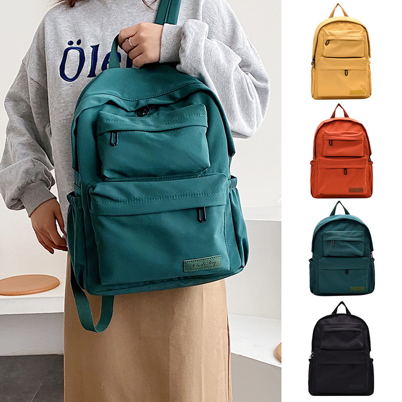 H4c34ce0eb3df4bc68f74304236533b05j - New Waterproof Nylon Backpack for Women Multi Pocket Travel Backpacks Female School Bag for Teenage Girls Dropshipping