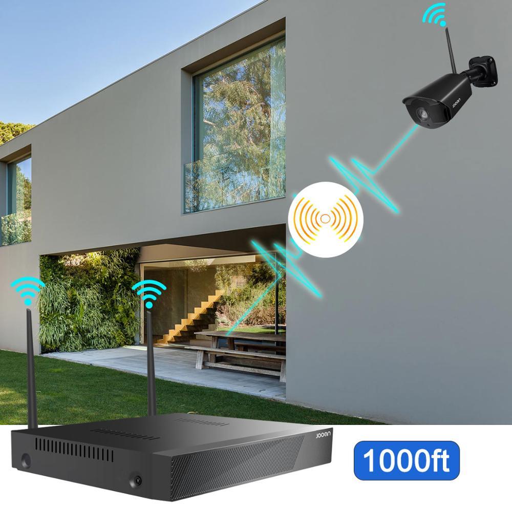 Drahtlose Überwachungs System Kit 1080P 2MP HD WIFI Kamera Home Security Camera System Night Vision Video Überwachung Kit