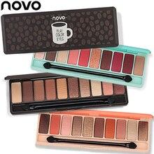 Hot 10Colors Eyeshadow Palette Matte Nude Glitter Eye Shadow Makeup Tools Korea Cosmetics ZG88