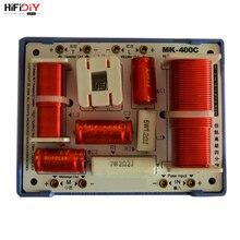 HIFIDIY LIVE MK 400C 3 Vie 4 Unità di altoparlante (tweeter + mid + 2 * basso) altoparlanti HiFi audio Divisore di Frequenza di Crossover Filtri