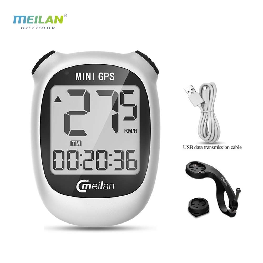 Meilan GPS <font><b>Bike</b></font> <font><b>computer</b></font> bicycle GPS Speedometer M3 Speed <font><b>Altitude</b></font> DST Ride time Wireless waterproof bicycle <font><b>computer</b></font> image