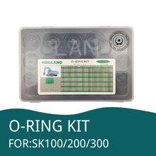 666 PCE O Ring Kit Oil Seal Gaskets For KOBELCO SK100 SK 200 SK 300 Excavator Repair Tools Rubber ring
