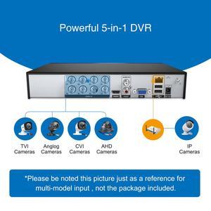 Image 5 - Camera SANNCE HD 8CH CCTV Sistema 1080P HDMI DVR 2.0MP CCTV Telecamera di Sicurezza 4PCS 1080P Macchina Fotografica Esterna di IR video di Sorveglianza kit