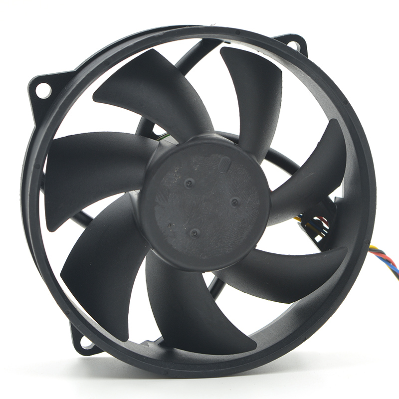 AFB09512H 9225 8025 92mm Fan 9cm 12V 0.30A Double Ball Bearing 4pin Computer CPU Cooler Replacement Cooling Fan