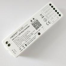 MiBoxer WL5 5 in 1 LED WIFI Controller สำหรับ RGB RGBW RGB CCT SINGLE Color LED Strip Light Amazon Alexa โทรศัพท์ APP REMOTE
