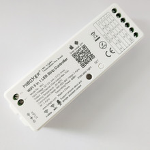 MiBoxer WL5 5 in 1 LED WIFI denetleyici RGB RGBW RGB CCT tek renkli LED şerit ışık Amazon Alexa sesli telefon app uzaktan