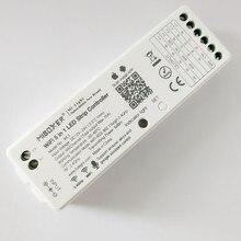 MiBoxer controlador LED WL5 5 en 1 para RGB RGBW RGB, cinta de led CCT, luz de único color, aplicación remota para teléfono con voz Amazon Alexa