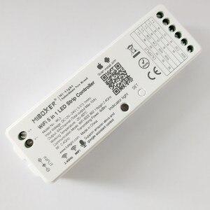 Image 1 - Miboxer wl5 5 em 1 led controlador wi fi para rgb rgbw rgb cct única cor conduziu a luz de tira amazon alexa voz telefone app remoto