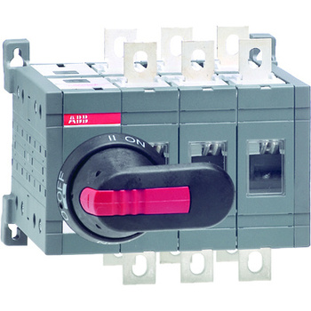 ABB ot250e03c switch-disconnect reverse 3p 250A, without handle and adapter 1sca022764r3060