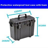 כלי מקרה ארגז כלים מזוודה השפעה עמיד אטום עמיד למים פלסטיק ציוד מקרה מצלמה מקרה תיבת מטר עם מראש לחתוך קצף box camera box boxbox with foam -