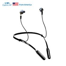 Капитан ВЧ Bluetooth наушники Беспроводные наушники громкой связи с микрофоном Наушники Наушники с шумоподавлением HiFi система 2в1 шейным