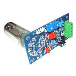 Image 4 - Leory 6E2 管プリアンプオーディオボード vu 電源レベルドライバボード音量インジケータ胆汁プリアンプ真空トーン信号 diy キット