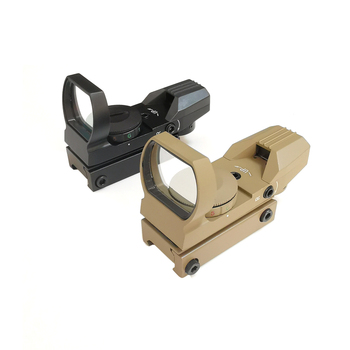 Tactical 11/20mm Red Green Dot Holographic Reflex Sight Optic Riflescope for Airsoft Air Gun Rifle Accessory Hunting  Caza 6