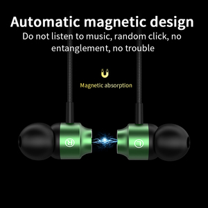 S10 Stereo Bass earphone In-Ear 3.5MM Wired Earphones Metal HIFI Earpiece with MIC for Xiaomi Samsung Huawei Phones