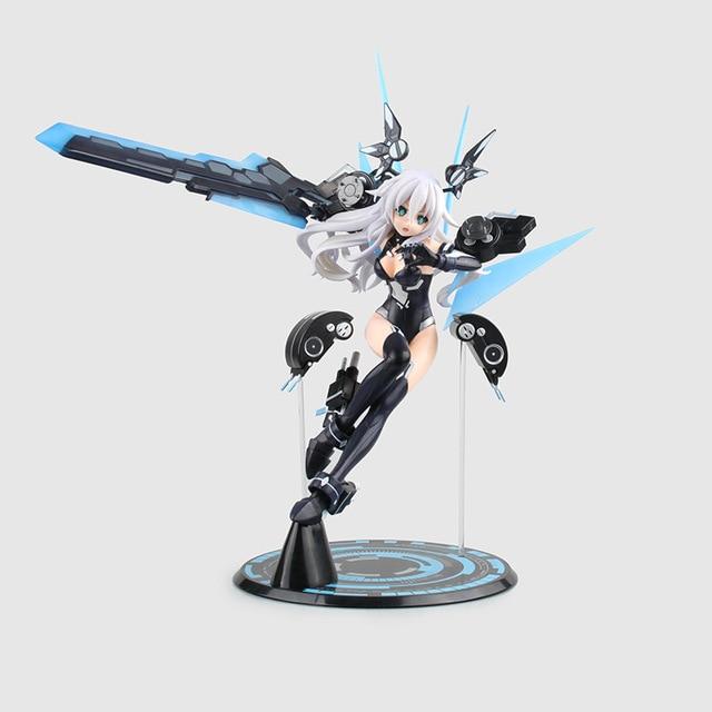 Anime Hyperdimension Neptunia Black Heart Noire Neptune 1/7 Scale Battle Ver. Sexy PVC Action Figure Collectible Model Toys Doll