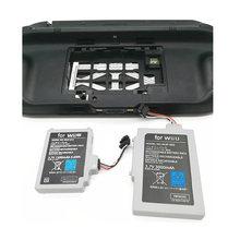 3600mah аккумуляторная батарея для nintendo wii u геймпад контроллер