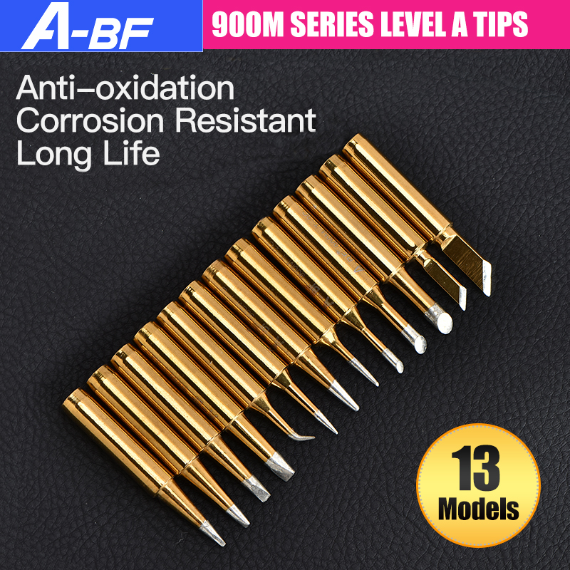 A-BF 900M Soldering Iron Tips Level A High Quality Lead-free Solder Welding Tips 13 Models