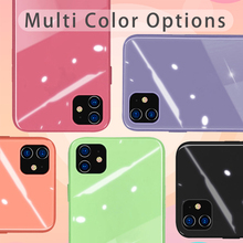 OEING for iPhone 11 Pro Max Case X XS Max XR 7 8 6 6s Plus SE 2020 Case Cover 9H Hardness Tempered Glass Shockproof Macaron privacy tempered glass magnetic case for iphone 11 pro max xs max xr x 8 7 6s 6 plus se magnet metal bumper anti peeping cover