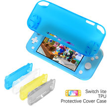 TPU Protector Case for Nintendo Switch Lite 2019, Soft Anti-Scratches Protective Shell Cover Bumper Back Silicone Case(China)